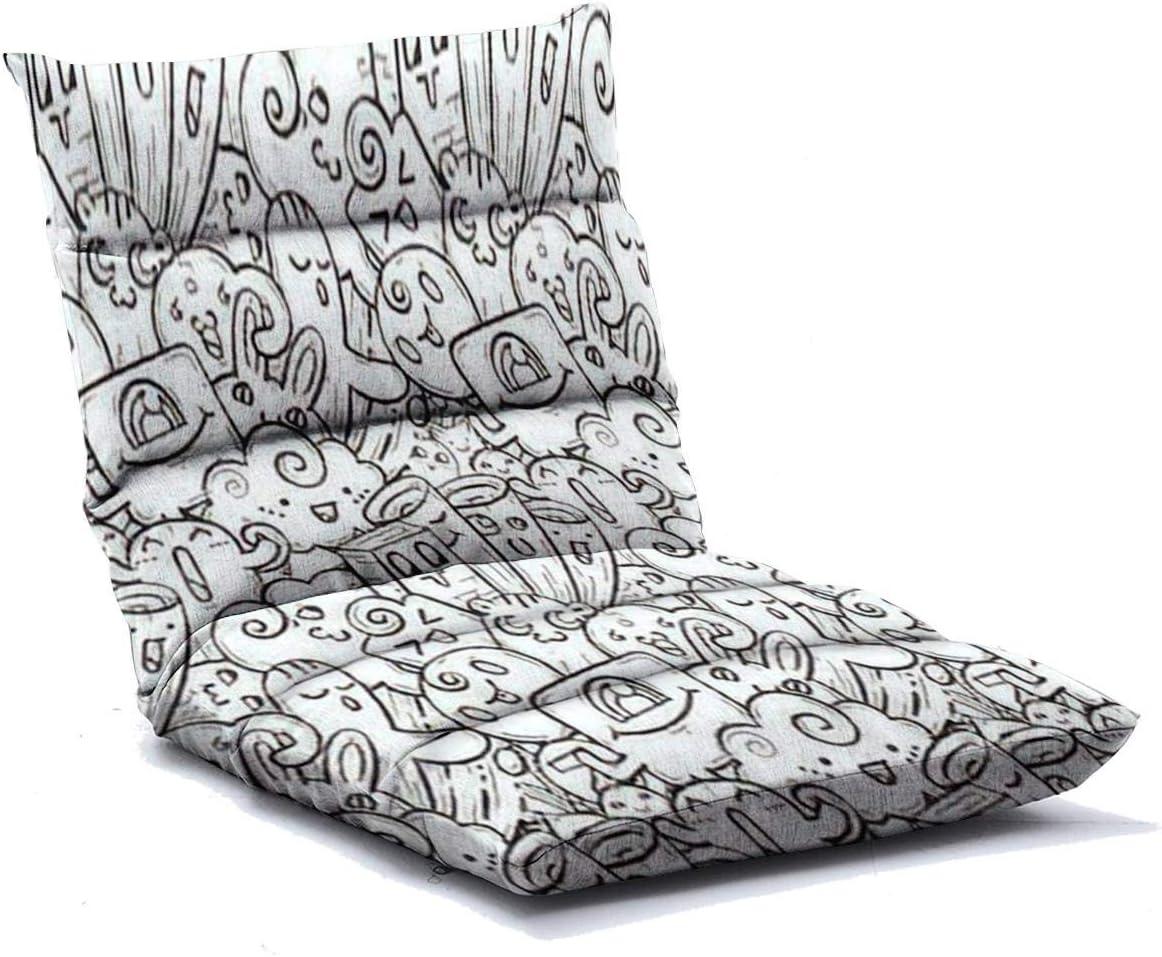Floor Lounger Adjustable Chair Smiling Monster 5% OFF Nice Doodle 35% OFF