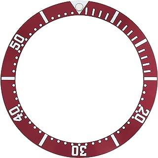 BEZEL INSERT FOR OMEGA SEAMASTER WATCH 2531.80 DARK RED