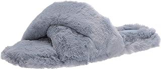 Nine West Women's Cozy Slipper, Light blue453, 8