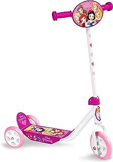 Stamp Disney Princess Trottinette 3 roues, J100078, PINK, guidon ajustable en hauteur
