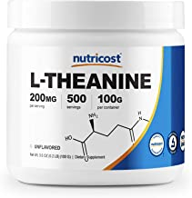 Nutricost L-Theanine Powder 100 Grams - Gluten Free & Non-GMO