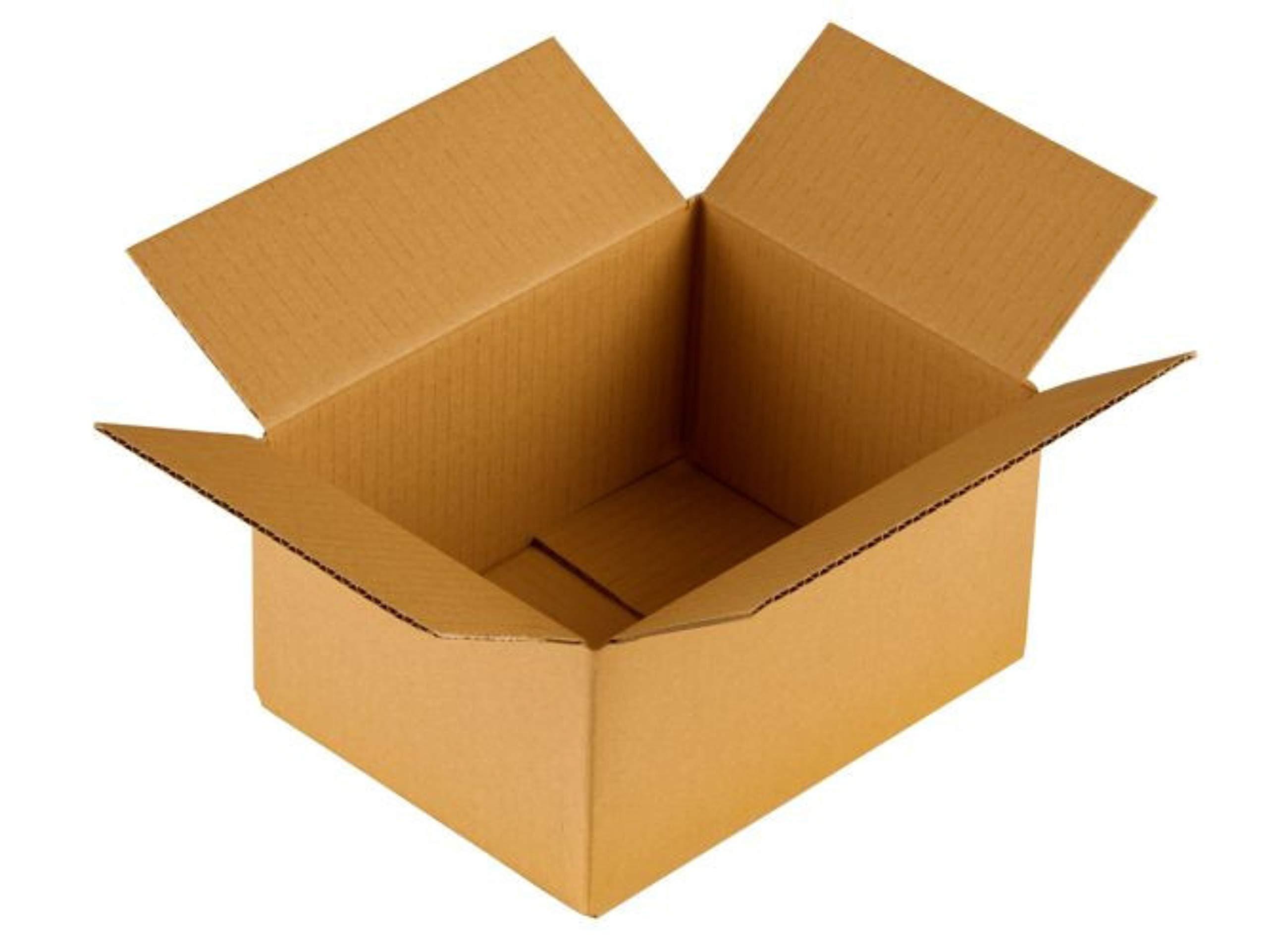 KartonProfis - Caja de cartón (350 x 200 x 100 mm), color marrón, color marrón 350x200x100: Amazon.es: Oficina y papelería