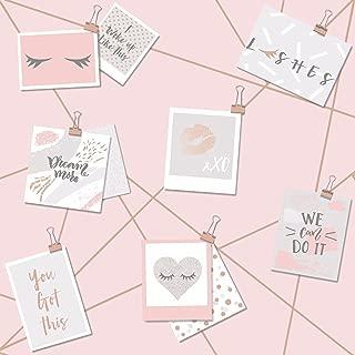 Dream Lashes Wallpaper Pink/Rose Gold Holden 12770