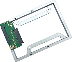 Fenlink SSD Mounting Bracket Converter for Samsung Sandisk Crucial Adata 2.5Inch SATA Solid State Drives (Silver)