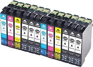 Teng® - Cartuchos de tinta Epson 29 29XL compatible con Epson XP-235 XP-245 XP-255 XP-247 XP-257 XP-335 XP-3442 XP-345 XP-355 XP-432 XP-435 XP-442 XP-445 XP-455-6negro,2cian, 2magenta,2amarillo