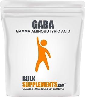 BulkSupplements GABA (Gamma Aminobutyric Acid) Powder (100 Grams)