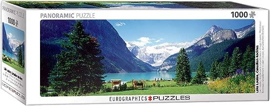 EuroGraphics Lake Louise Canadian Rockies 1000-Piece Puzzle