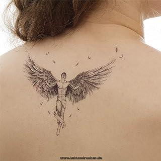 Teufel tattoo rücken engel Tätowierungsskizzen TEUFEL