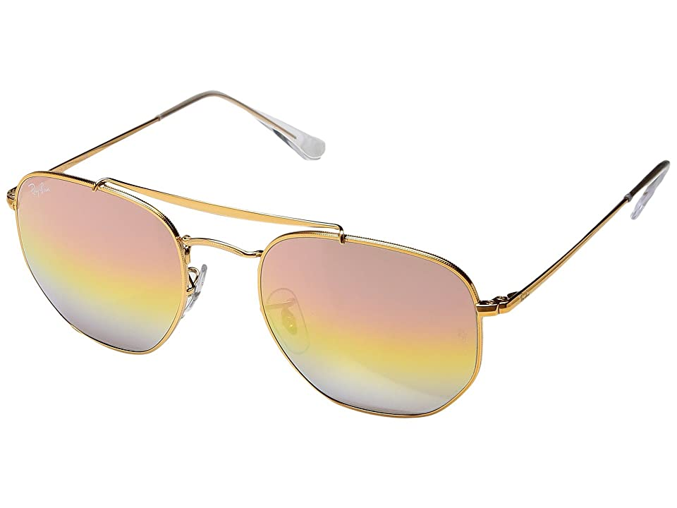 Ray-Ban RB3648 Marshall 54mm (Light Bronze/Pink Gradient Mirror) Fashion Sunglasses
