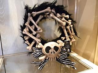 Disney Event Nightmare Before Christmas Bone Holiday Door Wreath