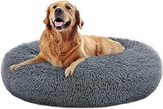 OQQ Dog Beds Calming Donut Cuddler, Puppy Dog Beds Large...