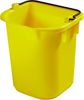 Rubbermaid Commercial Products 1857374 Heavy-Duty Cleaning Pail, 5 quart, Yellow