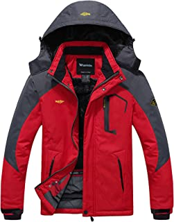 Men's Mountain Waterproof Ski Jacket Windproof Rain Jacket