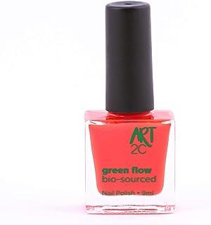 Art 2C, smalto per unghie vegan e bio 85% brevettato, ultra-puro, 24 colori, 9 ml, colore: Strawberry 10
