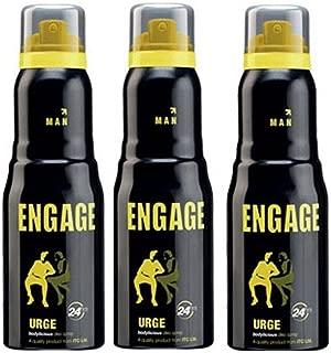 Engage Man Bodylicious Deodorant Spray - Urge (150ml) (Pack of 3)