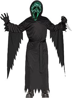 Smoldering Ghost Face Kids Costume