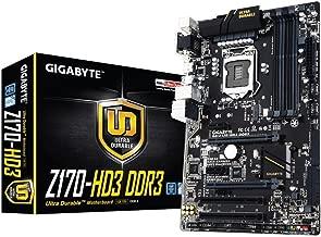 Gigabyte Motherboard ATX DDR3 2600 LGA 1151 GA-Z170-HD3 DDR3