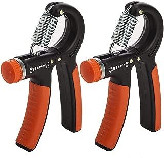 MB-Campstar Set of 2 Adjustable Hand Gripper Strengthener by xFitness