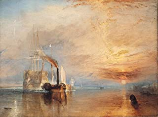 Gifts Delight Laminated 22x16 Poster: Joseph Mallord William Turner - London National Gallery Top 20 13 JMW Turner - The Fighting Temeraire