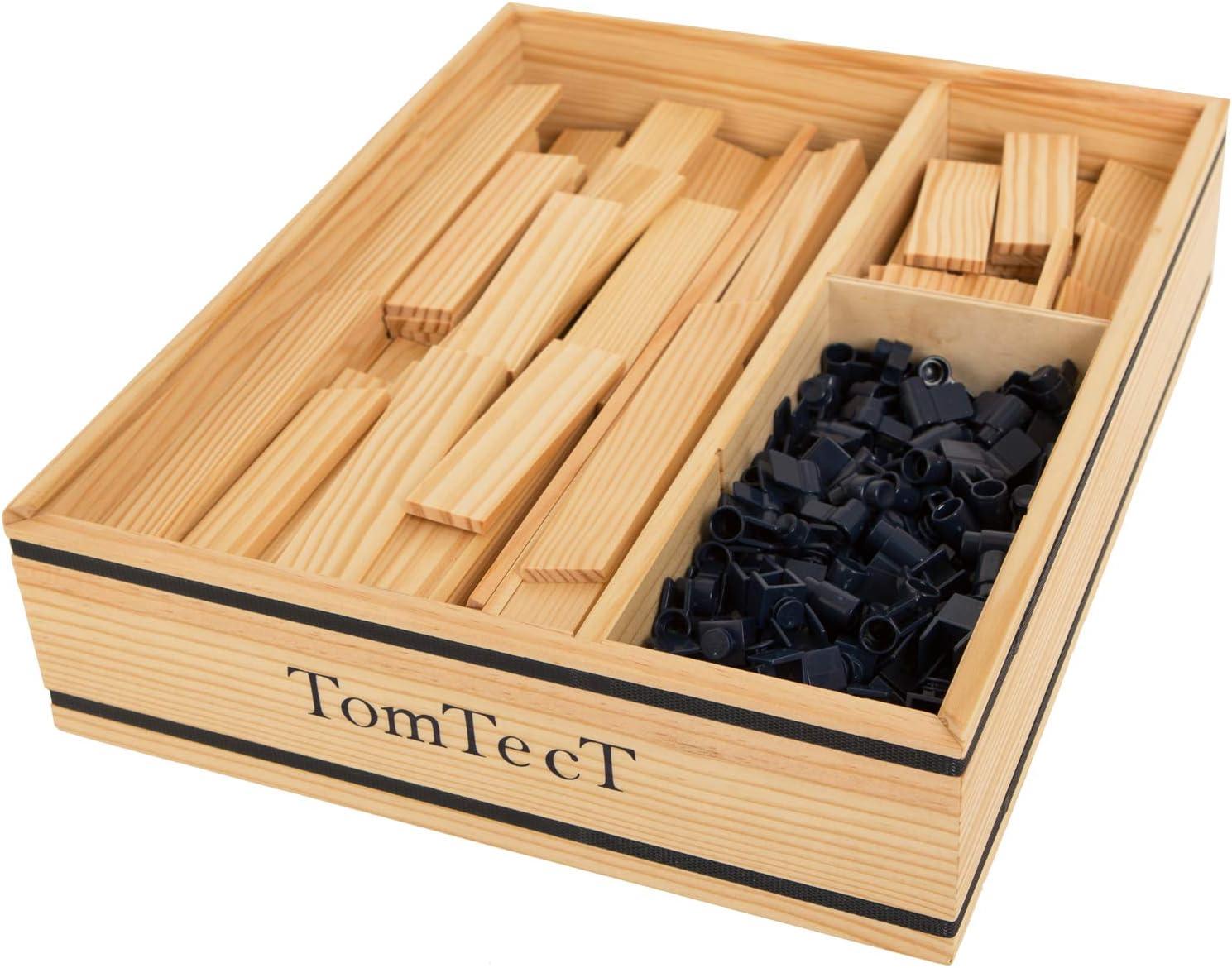KAPLA-TomTecT-Juego de construcción (500 Piezas), Color, Talla única (8043)