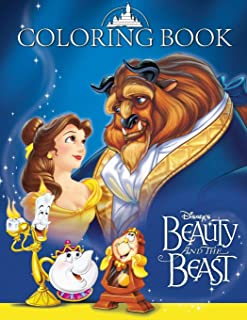 Beauty and the Beast Coloring Book: Great 43 Illustrations for Kids