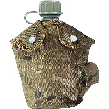US Armée Américaine Style 2 Qt Qt Bouteille D/'Eau Et Housse