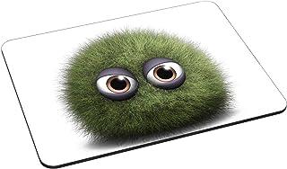 Pedea Gaming und Office Mauspad   220 x 180 mm   mit vernähten Rändern und Rutschfester Unterseite, Green Dust