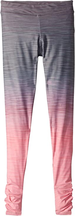 Gradient Print Full Length Leggings (Little Kids/Big Kids)