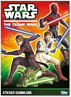 Star Wars The Clone Wars 2013 Sticker-Album
