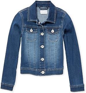 The Children's Place Girls' Big Solid Denim Jacket