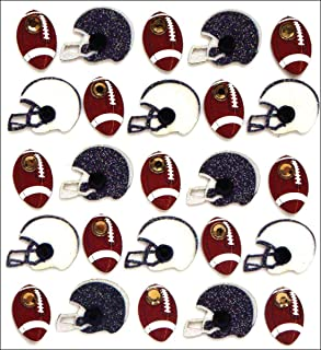 Jolee's Boutique Dimensional Stickers, Footballs and Helmets