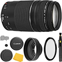 Best canon ef s 75 300mm lens Reviews