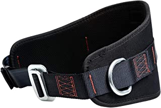 KSEIBI 421030 Safety Belt with Hip Pad Climbing Harness Body Positioning Belt 2 D-Rings Stranded Size - up to 42