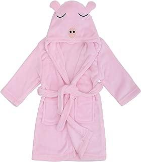 Verabella Kids Boy's & Girl's Ultra-Plush Soft Hooded Animal Theme Sleepwear Party Costume Robe