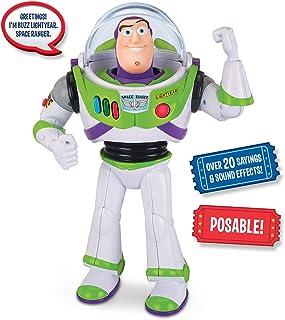 Toy Story 64069 Disney/Pixar Talking Buzz Action Figure