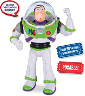 Disney Toystory Talking Buzz B/O, Multi-Colour, 12In, 64069