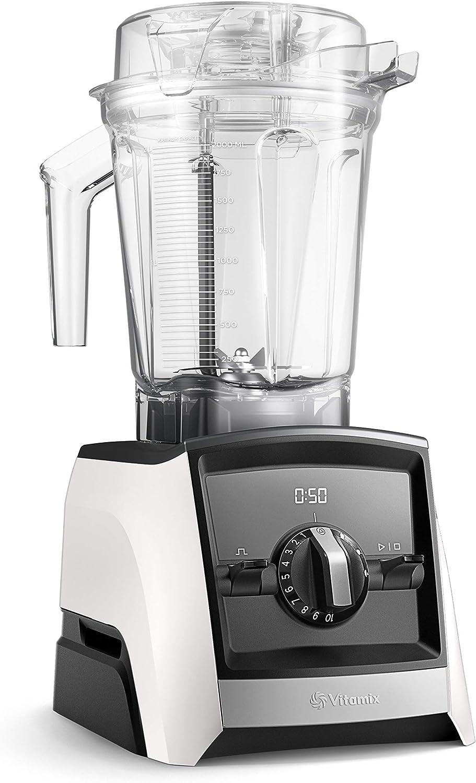 Vitamix Ascent 2500i Batidora vaso, 1400 W, 2 litros, Libre BPA, Blanco