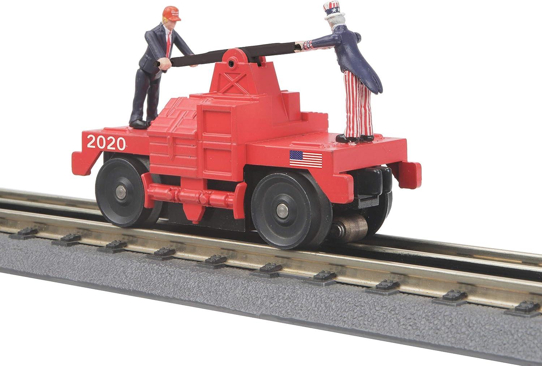 Donald Trump Uncle Sam O Operating RailKing 返品不可 Gauge ストアー Car Hand