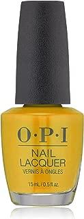 OPI Nail Lacquer, Yellows