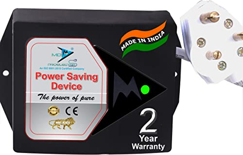 MD Proelectra MDP010 Power Saver 0 5KW New Updated Electricity Saving Device Electricity Saver for Residential and commercial Made in India