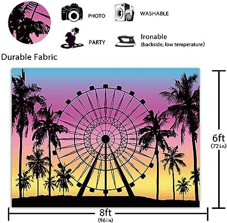 Funnytree Fotohintergrund Mit Riesenrad Für Sommertage Kamera