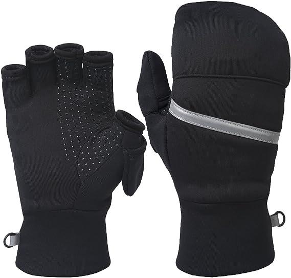 TrailHeads Power Stretch Convertible Mittens - Women's Fingerless Gloves