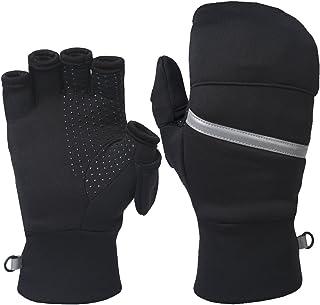 Best Power Stretch Convertible Mittens - Women's Fingerless Gloves Review