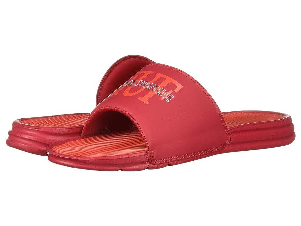 HUF Worldwide Slide (Red) Men