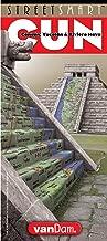 StreetSmart Cancun, Yucatan & Riviera Maya Map by VanDam -- Laminated pocket Planning and Travel Map to the Riviera Maya, Yucatan, Merida, Playa del ... Uxmal & Tulum (English and Spanish Edition)