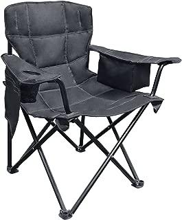 Caravan Sports EQC01051, Solid Black Elite Quad Chair