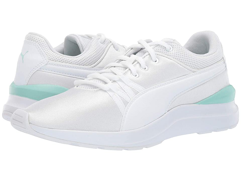 Puma Kids Adela (Big Kid) (Puma White/Puma White) Girl
