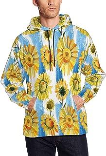 Men's Hooded Pullover Sweatshirt