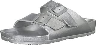 Skechers Womens 31686 Cali Breeze - Glow Power - Two Band Slide Sandal