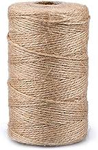 color verde fosforito y blanco Hemptique Bakers Twine Bobina de hilo de algod/ón de fuerza media 125 m, 50 g, grosor aprox. de 1 mm
